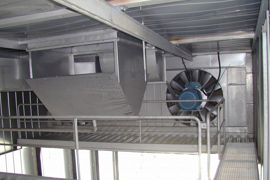 Высокотемпературные камеры для сушки бревна, бруса, столбов